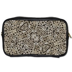 Cyber Punk Pattern Design Toiletries Bag (one Side)