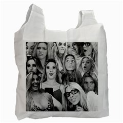 Lele Pons - Funny Faces Recycle Bag (two Side) by Valentinaart