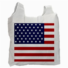 American Flag Recycle Bag (one Side)