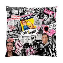Feminism Collage  Standard Cushion Case (one Side)