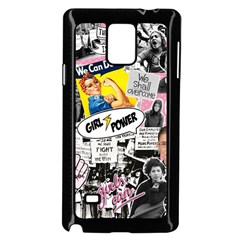 Feminism Collage  Samsung Galaxy Note 4 Case (black)