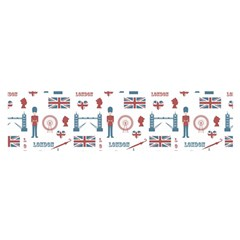 London Love Satin Scarf (oblong) by lucia