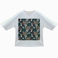 Vintage flowers and birds pattern Infant/Toddler T-Shirts