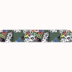 Vintage flowers and birds pattern Small Bar Mats