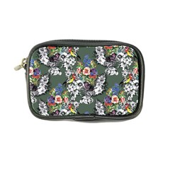 Vintage flowers and birds pattern Coin Purse