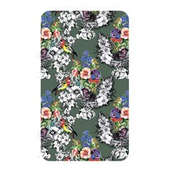 Vintage flowers and birds pattern Memory Card Reader (Rectangular)