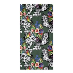 Vintage flowers and birds pattern Shower Curtain 36  x 72  (Stall)