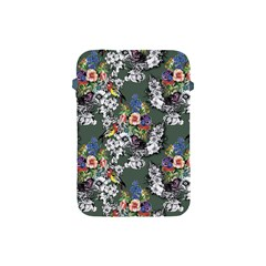 Vintage flowers and birds pattern Apple iPad Mini Protective Soft Cases