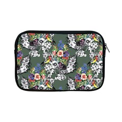 Vintage flowers and birds pattern Apple iPad Mini Zipper Cases