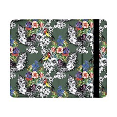 Vintage flowers and birds pattern Samsung Galaxy Tab Pro 8.4  Flip Case
