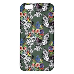 Vintage flowers and birds pattern iPhone 6 Plus/6S Plus TPU Case