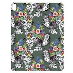 Vintage flowers and birds pattern Apple iPad Pro 10.5   Black Frosting Case
