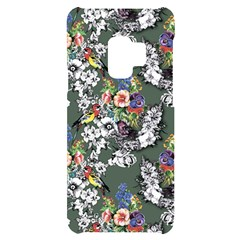 Vintage flowers and birds pattern Samsung S9 Frosting Case