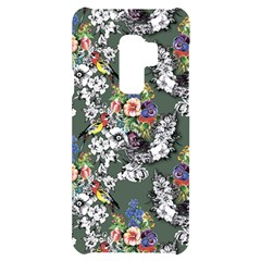 Vintage flowers and birds pattern Samsung S9 Plus Frosting Case