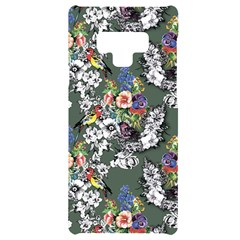 Vintage flowers and birds pattern Samsung Note 9 Frosting Case