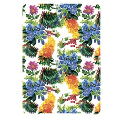 Flowers Painting Pattern Apple Ipad Pro 10 5   Black Frosting Case