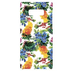 Flowers Painting Pattern Samsung Note 9 Frosting Case by goljakoff