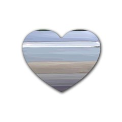 Pompey Beach Heart Coaster (4 Pack)  by DeneWestUK