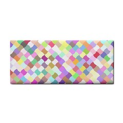 Mosaic Colorful Pattern Geometric Hand Towel