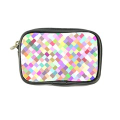 Mosaic Colorful Pattern Geometric Coin Purse