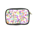 Mosaic Colorful Pattern Geometric Coin Purse Back