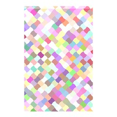 Mosaic Colorful Pattern Geometric Shower Curtain 48  X 72  (small)
