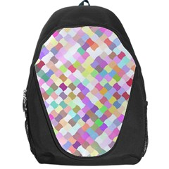 Mosaic Colorful Pattern Geometric Backpack Bag