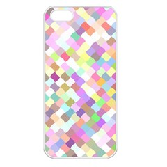 Mosaic Colorful Pattern Geometric Iphone 5 Seamless Case (white)