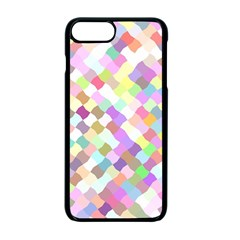 Mosaic Colorful Pattern Geometric Iphone 7 Plus Seamless Case (black)