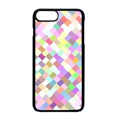 Mosaic Colorful Pattern Geometric Iphone 8 Plus Seamless Case (black)