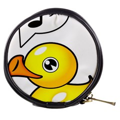 Whistling Rubber Duck   By Larenard Studios Mini Makeup Bag
