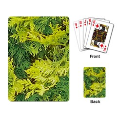 Garden Of The Phoenix Playing Cards Single Design by Riverwoman
