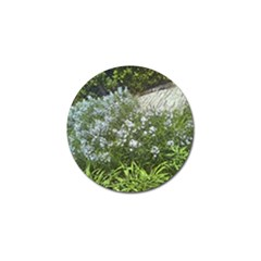 Lurie Garden Amsonia Golf Ball Marker (10 Pack) by Riverwoman