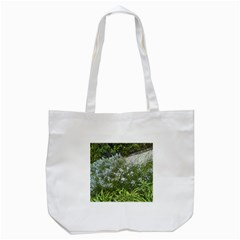 Lurie Garden Amsonia Tote Bag (white) by Riverwoman