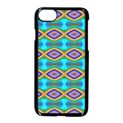 Abstract Colorful Unique Iphone 7 Seamless Case (black)