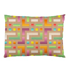 Abstract Background Colorful Pillow Case (two Sides)
