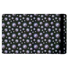 Seamless Pattern Background Circle Apple Ipad 2 Flip Case by Desi8477
