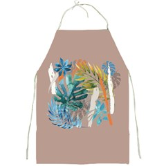 Capella Brown Full Print Aprons by tangdynasty