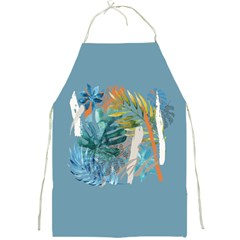 Capella Blue Full Print Aprons by tangdynasty