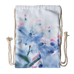 Ceanothus Wind Drawstring Bag (large) by tangdynasty