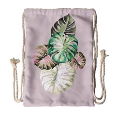 Dry Palm Drawstring Bag (large) by tangdynasty
