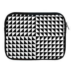 Optical Illusion Illusion Black Apple Ipad 2/3/4 Zipper Cases