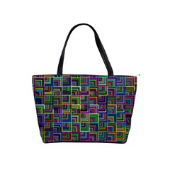 Wallpaper Background Colorful Classic Shoulder Handbag