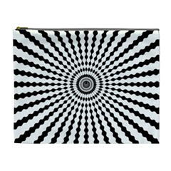 Starburst Sunburst Hypnotic Cosmetic Bag (xl)