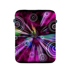Fractal Circles Abstract Apple Ipad 2/3/4 Protective Soft Cases