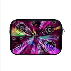 Fractal Circles Abstract Apple Macbook Pro 15  Zipper Case by Pakrebo