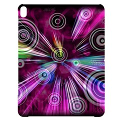 Fractal Circles Abstract Apple Ipad Pro 10 5   Black Frosting Case