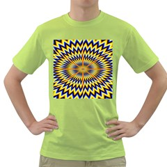 Illusion Head Idea Irritation Green T Shirt