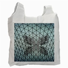 Graphic Pattern Wing Art Recycle Bag (two Side) by Pakrebo