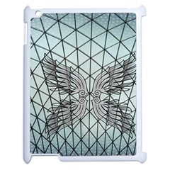 Graphic Pattern Wing Art Apple Ipad 2 Case (white)